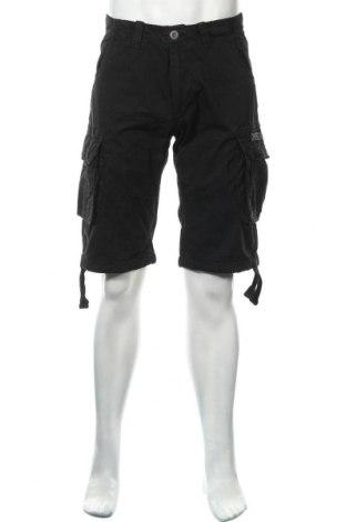 Мъжки къс панталон Alpha Industries, Размер M, Цвят Черен, 100% памук, Цена 55,48лв.