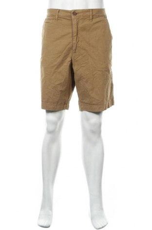 Мъжки къс панталон American Eagle, Размер XL, Цвят Бежов, 8% памук, 2% еластан, Цена 22,05лв.