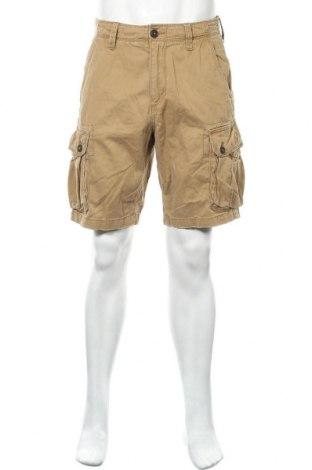 Мъжки къс панталон American Eagle, Размер S, Цвят Бежов, Памук, Цена 20,95лв.