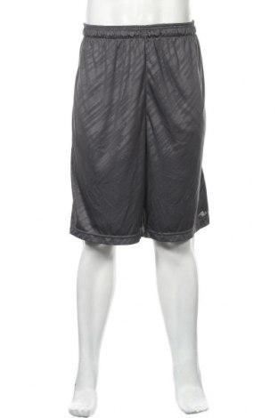 Мъжки къс панталон Athletic Works, Размер XL, Цвят Сив, Полиестер, Цена 19,95лв.