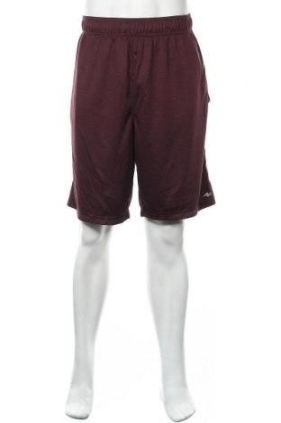 Мъжки къс панталон Athletic Works, Размер XL, Цвят Червен, Полиестер, Цена 12,50лв.