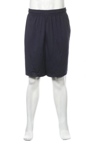 Мъжки къс панталон Athletic Works, Размер XXL, Цвят Син, Полиестер, Цена 19,85лв.