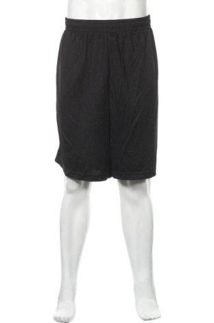 Мъжки къс панталон Athletic Works, Размер XXL, Цвят Черен, Полиестер, Цена 15,44лв.