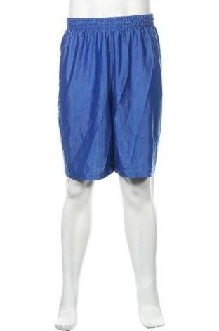 Мъжки къс панталон Athletic Works, Размер XXL, Цвят Син, Полиестер, Цена 15,44лв.