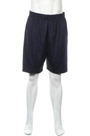 Мъжки къс панталон Athletic Works, Размер XL, Цвят Син, Полиестер, Цена 17,01лв.