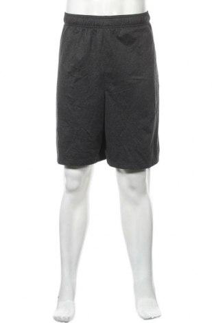 Мъжки къс панталон Athletic Works, Размер XXL, Цвят Сив, 90% полиестер, 10% еластан, Цена 23,94лв.