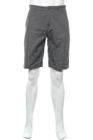 Мъжки къс панталон DC Shoes, Размер S, Цвят Сив, 65% полиестер, 35% памук, Цена 23,94лв.