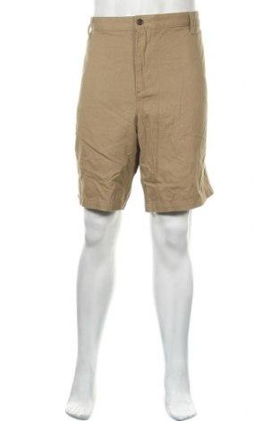 Мъжки къс панталон Dockers, Размер XXL, Цвят Кафяв, Памук, Цена 24,99лв.