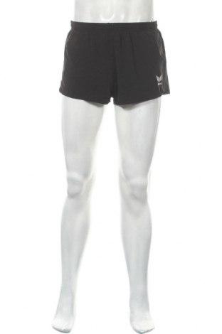 Мъжки къс панталон Erima, Размер M, Цвят Черен, 86% полиестер, 14% еластан, Цена 23,10лв.