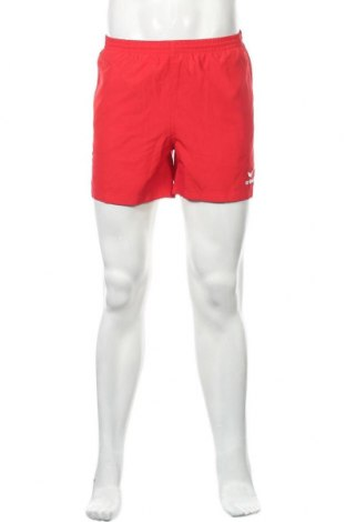 Мъжки къс панталон Erima, Размер S, Цвят Червен, Полиестер, Цена 29,40лв.