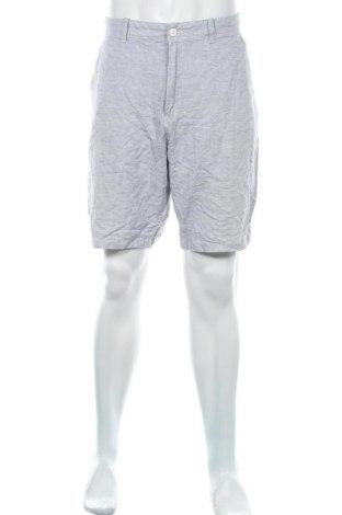 Мъжки къс панталон Express, Размер XL, Цвят Син, 55% лен, 45% памук, Цена 22,05лв.