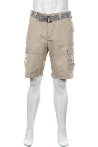 Мъжки къс панталон Express, Размер L, Цвят Бежов, Памук, Цена 33,60лв.