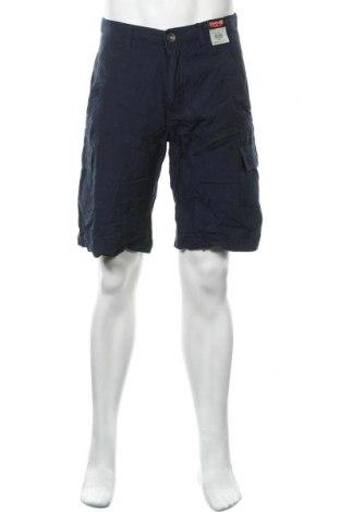 Мъжки къс панталон H.i.s, Размер M, Цвят Син, Памук, Цена 33,92лв.