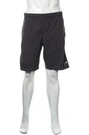 Мъжки къс панталон Head, Размер S, Цвят Сив, 90% полиестер, 10% еластан, Цена 21,95лв.