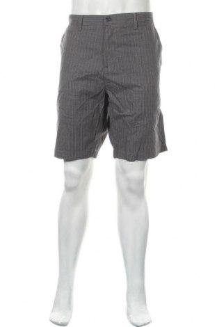 Мъжки къс панталон Kenneth Cole, Размер XXL, Цвят Сив, Памук, Цена 34,81лв.