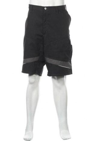Мъжки къс панталон Kubler, Размер XXL, Цвят Черен, 65% полиестер, 35% памук, Цена 28,42лв.