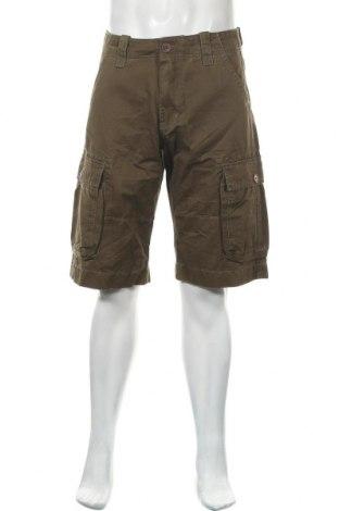 Мъжки къс панталон Levi's, Размер M, Цвят Зелен, Памук, Цена 24,15лв.