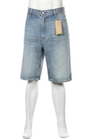 Мъжки къс панталон Levi's, Размер L, Цвят Син, Памук, Цена 78,80лв.