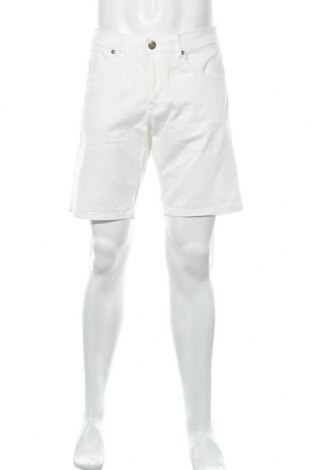Мъжки къс панталон Lois, Размер M, Цвят Бял, 98% памук, 2% еластан, Цена 43,07лв.