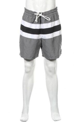 Мъжки къс панталон Merona, Размер XL, Цвят Сив, Полиестер, Цена 13,39лв.