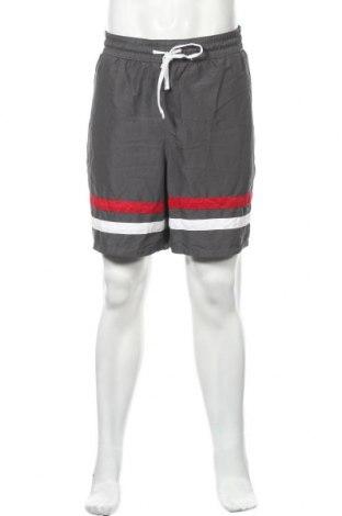 Мъжки къс панталон Merona, Размер XXL, Цвят Сив, Полиестер, Цена 16,80лв.