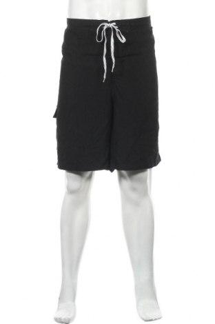 Мъжки къс панталон Merona, Размер XXL, Цвят Черен, Полиестер, Цена 13,39лв.