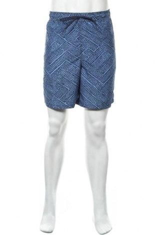 Мъжки къс панталон Merona, Размер L, Цвят Син, Полиестер, Цена 14,28лв.