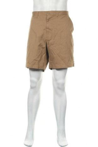 Мъжки къс панталон Merona, Размер XXL, Цвят Кафяв, 98% памук, 2% еластан, Цена 18,90лв.
