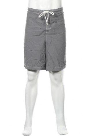 Мъжки къс панталон Merona, Размер XXL, Цвят Сив, Полиестер, Цена 15,17лв.