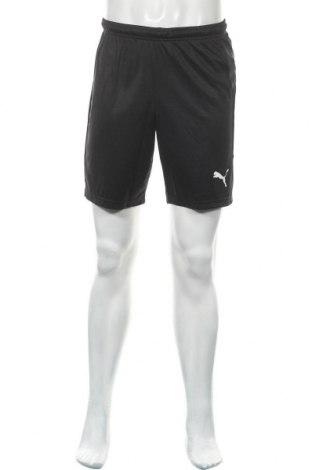 Мъжки къс панталон PUMA, Размер S, Цвят Черен, Полиестер, Цена 34,50лв.