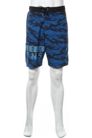 Мъжки къс панталон Reebok, Размер M, Цвят Син, Полиестер, Цена 20,95лв.