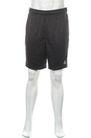 Мъжки къс панталон Reebok, Размер L, Цвят Черен, Полиестер, Цена 20,79лв.