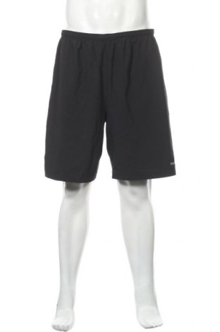 Мъжки къс панталон Reebok, Размер L, Цвят Сив, 86% полиестер, 14% еластан, Цена 18,74лв.