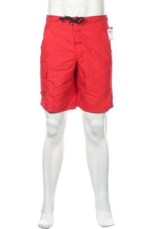 Мъжки къс панталон Route 66, Размер S, Цвят Червен, Полиестер, Цена 39,90лв.