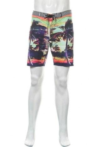 Мъжки къс панталон Roxy, Размер S, Цвят Многоцветен, 93% полиестер, 7% еластан, Цена 20,53лв.