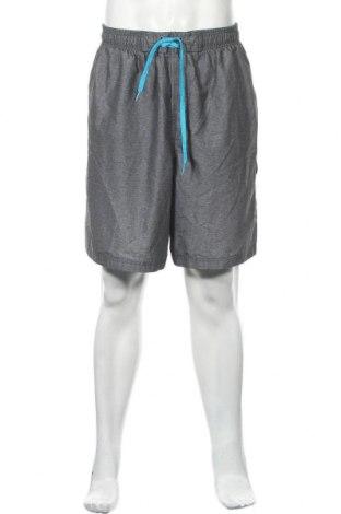 Мъжки къс панталон Speedo, Размер XXL, Цвят Сив, Полиестер, Цена 17,96лв.