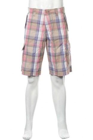 Мъжки къс панталон Tom Tailor, Размер L, Цвят Многоцветен, Памук, Цена 61,85лв.