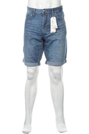 Ανδρικό κοντό παντελόνι Tom Tailor, Μέγεθος XL, Χρώμα Μπλέ, Βαμβάκι, Τιμή 18,95€