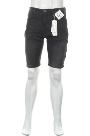Pantaloni scurți de bărbați Tom Tailor, Mărime M, Culoare Gri, 99% bumbac, 1% elastan, Preț 120,89 Lei
