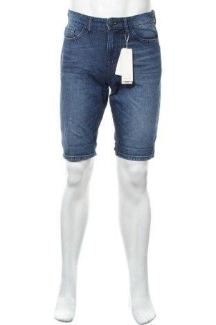 Ανδρικό κοντό παντελόνι Tom Tailor, Μέγεθος S, Χρώμα Μπλέ, 100% βαμβάκι, Τιμή 8,44€