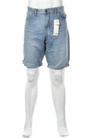 Ανδρικό κοντό παντελόνι Tom Tailor, Μέγεθος XL, Χρώμα Μπλέ, Βαμβάκι, Τιμή 8,44€