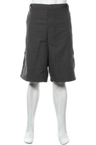Мъжки къс панталон Wrangler, Размер XXL, Цвят Сив, Полиамид, Цена 26,25лв.