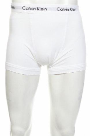 Мъжки комплект Calvin Klein, Размер S, Цвят Бял, 95% памук, 5% еластан, Цена 35,77лв.