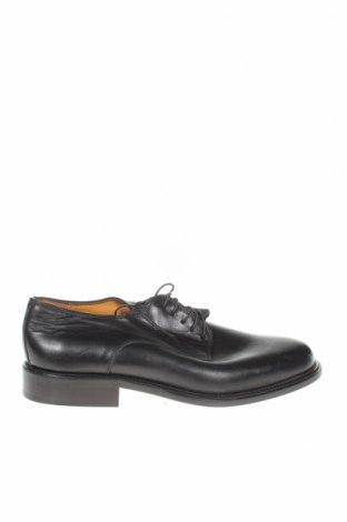 Мъжки обувки, Размер 40, Цвят Черен, Естествена кожа, Цена 36,96лв.