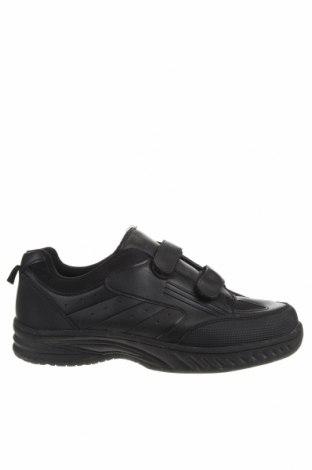 Мъжки обувки, Размер 43, Цвят Черен, Еко кожа, Цена 17,75лв.