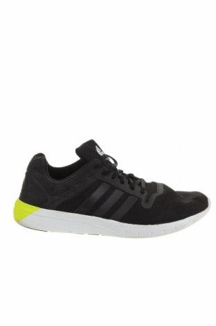 Ανδρικά παπούτσια Adidas, Μέγεθος 46, Χρώμα Μαύρο, Κλωστοϋφαντουργικά προϊόντα, Τιμή 40,27€