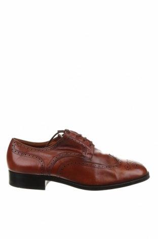 Мъжки обувки Bally, Размер 45, Цвят Кафяв, Естествена кожа, Цена 141,70лв.