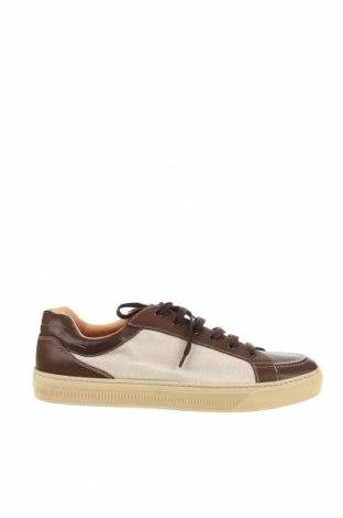 Мъжки обувки Bally, Размер 44, Цвят Кафяв, Естествена кожа, текстил, Цена 191,10лв.
