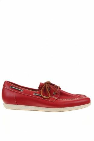 Мъжки обувки Bally, Размер 45, Цвят Червен, Естествена кожа, Цена 351,96лв.