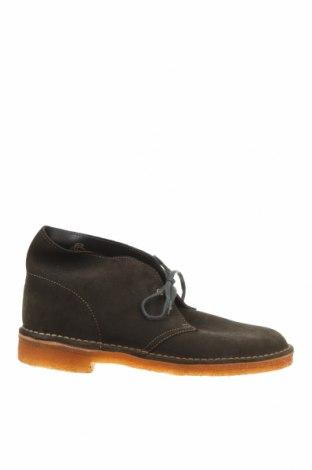 Мъжки обувки Clarks, Размер 40, Цвят Зелен, Естествена кожа, Цена 72,45лв.